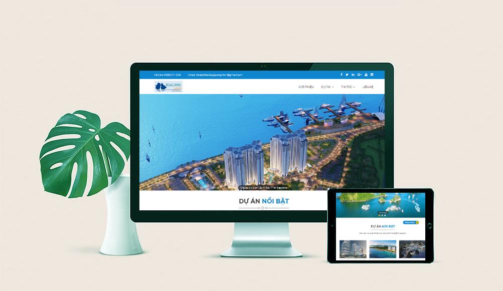 thiết kế web trọn gói tại hải dương