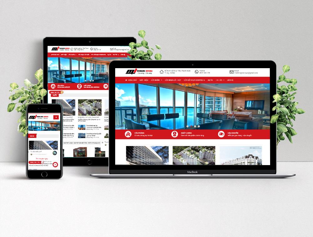 thiết kế website chuẩn SEO, giá rẻ tại Bắc Giang