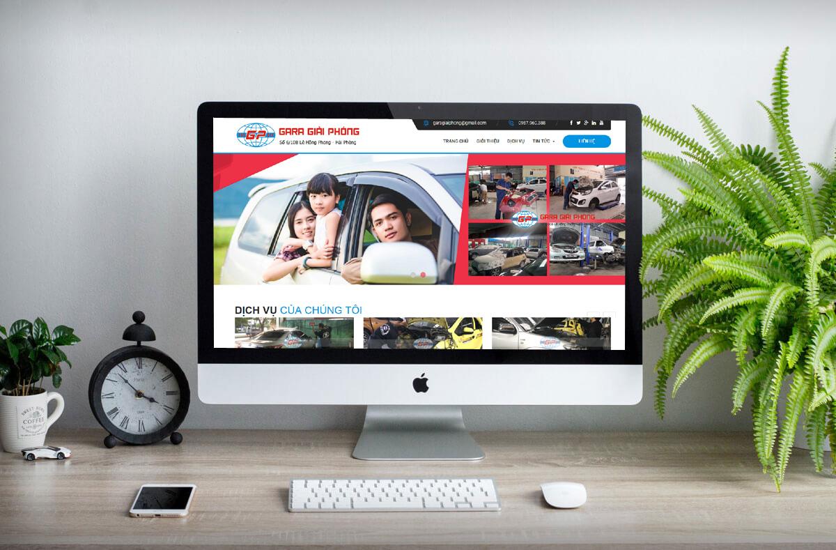 thiết kế web trọn gói tại Hải Phòng