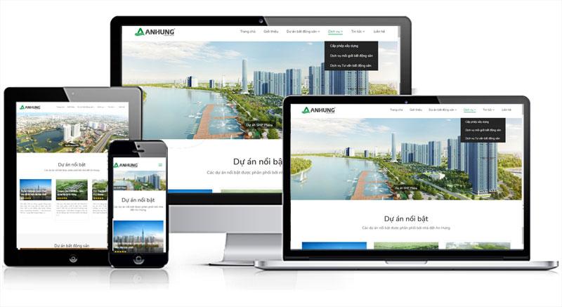 thiết kế website bất động sản chuẩn SEO tại hải dương