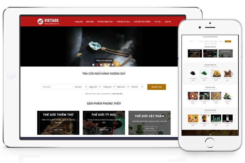 thiết kế website bán hàng đẹp tại Quảng Ninh