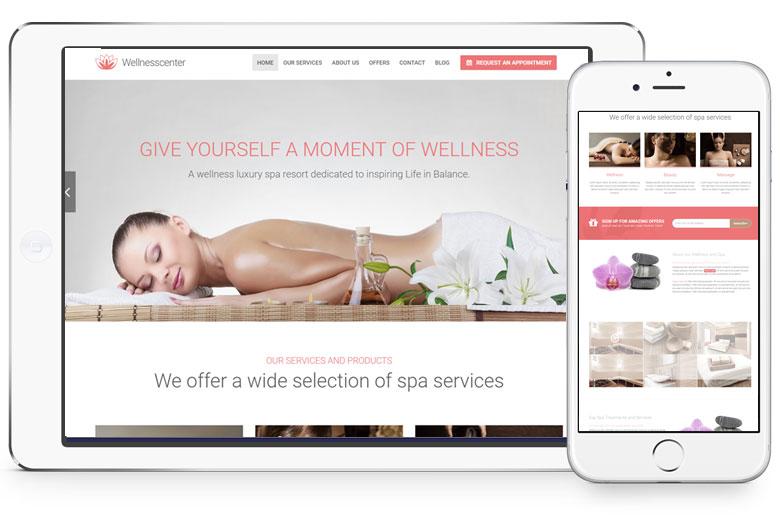 thiết kế website spa, thẩm mỹ viện nổi bật 2019