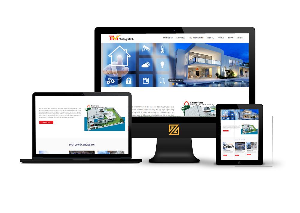 thiết kế website trọn gói chuyên nghiệp tại hải dương