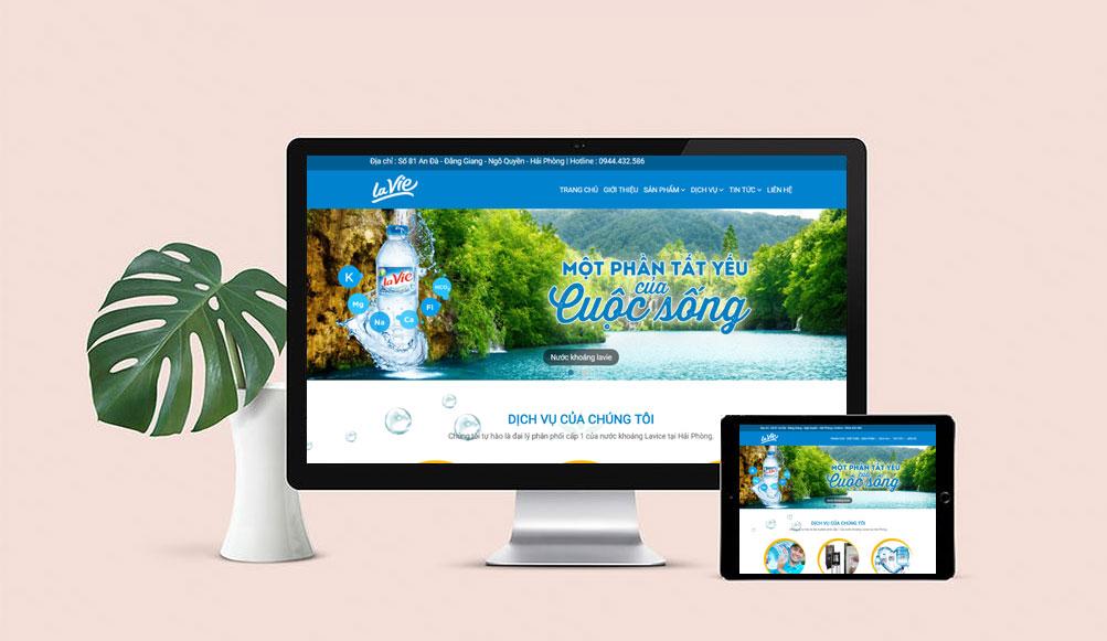 thiết kế web theo yêu cầu tại Hải Phòng