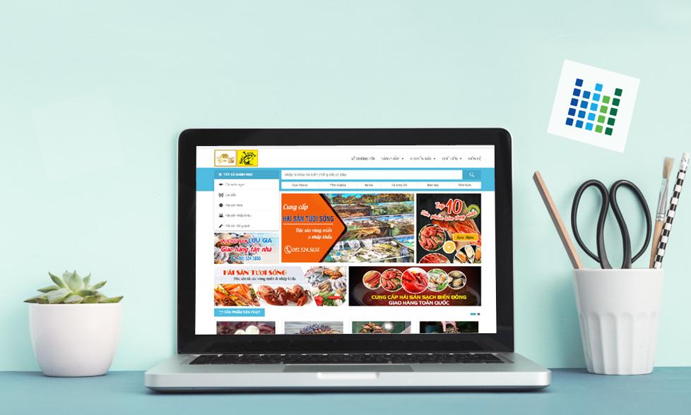 thiết kế website bán hàng đẹp, chuyên nghiệp, chuẩn SEO